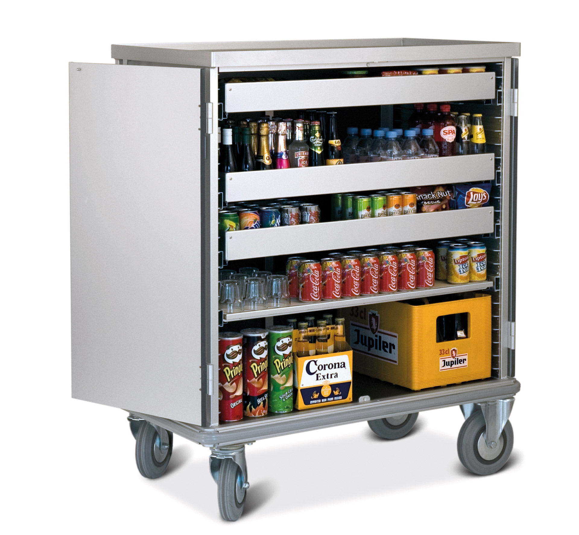 Mini Bar Trolley For Hotels And Cruise Ships Mercura