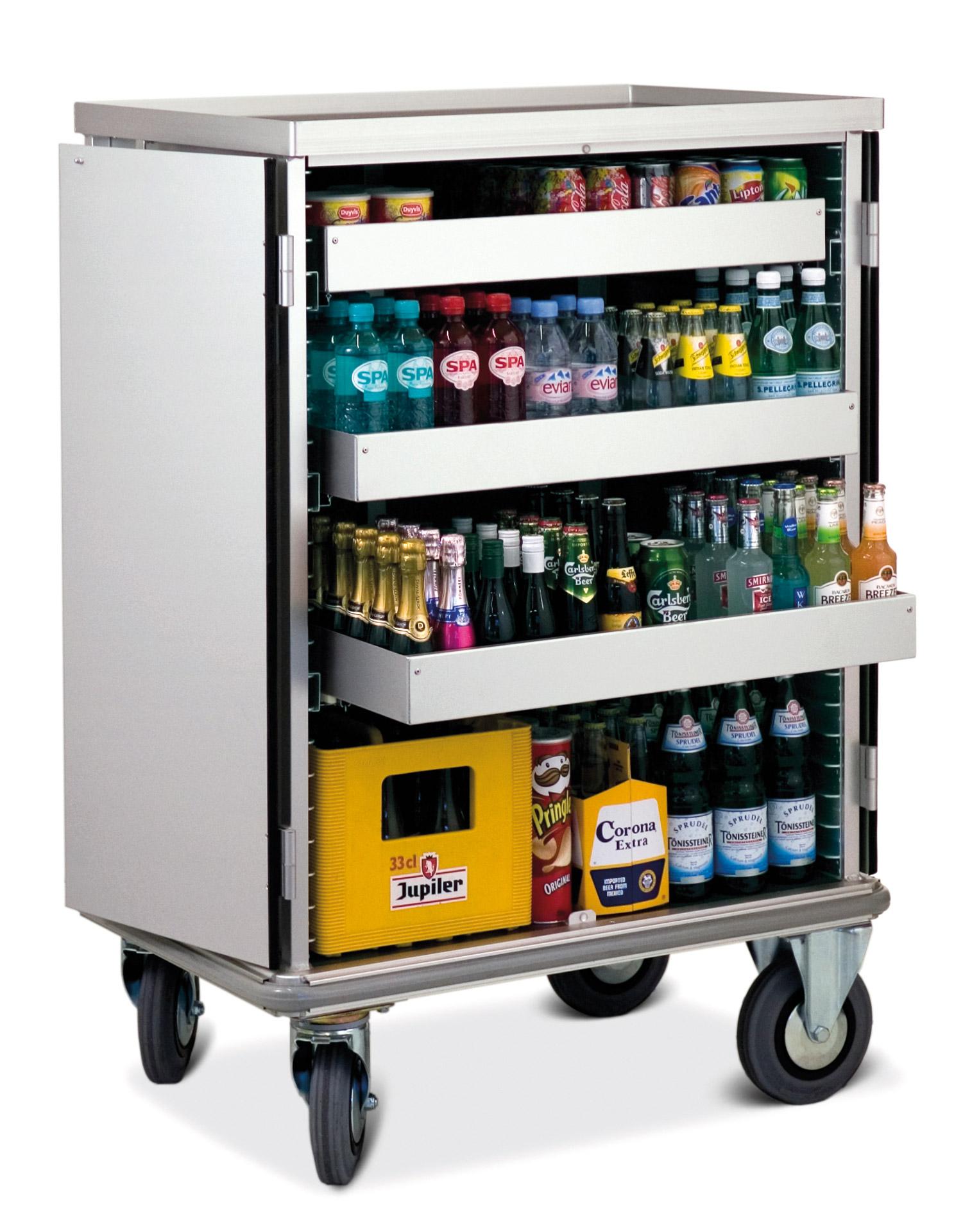 Mini Bar Trolley For Hotels And Cruise Ships Mercura